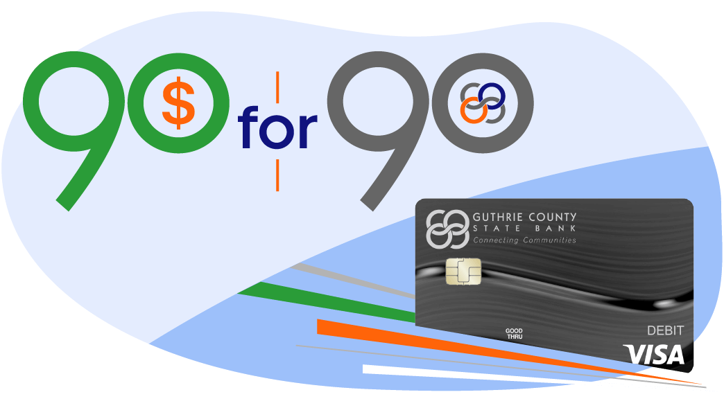 GCSB Launches 90 for 90 Debit Card Promotion in Honor of 90th Anniversary